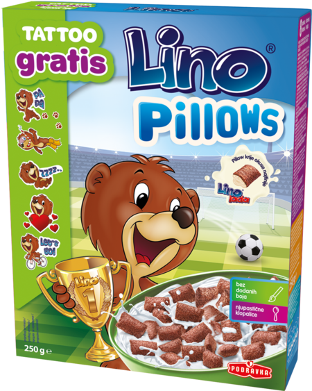 Lino Pillows – žepki polnjeni z Lino lado milk