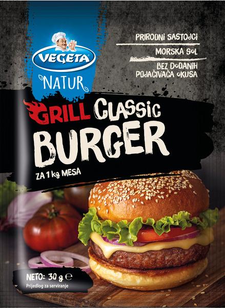 Vegeta Natur Grill Burger Classic