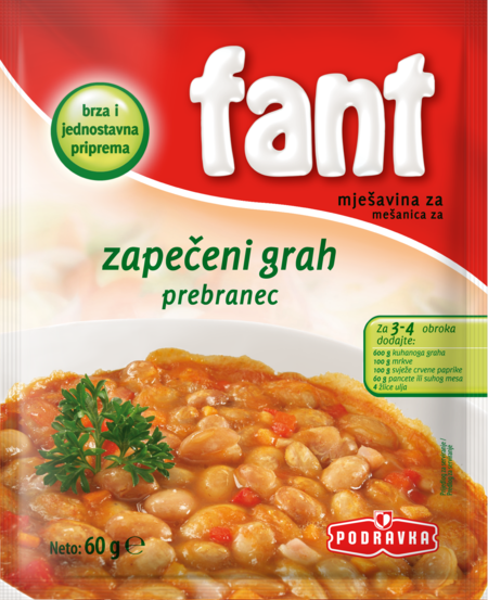 Fant seasoning mix for refried beans