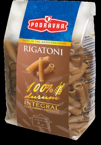 Rigatoni celozrnné