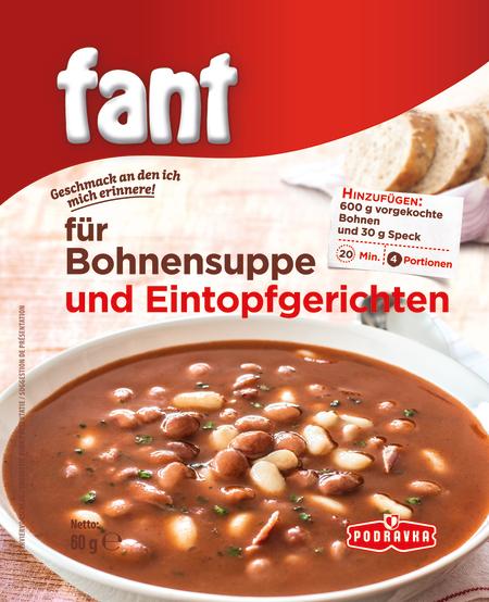 Fant für Bohnensuppe und Eintopfgerichte