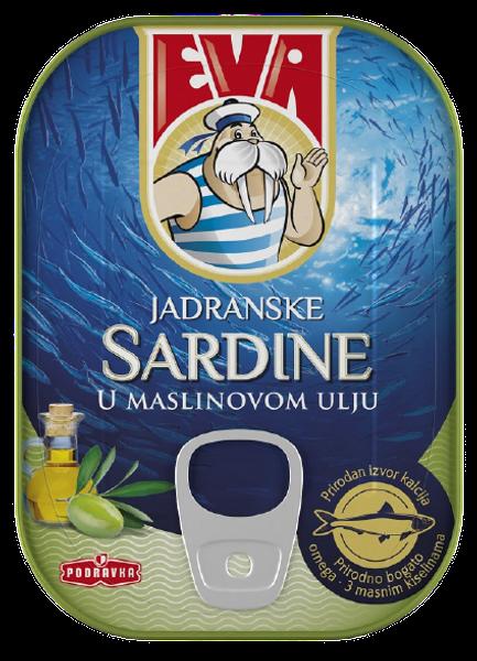 Eva Sardine in ulei de masline