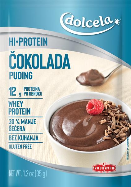 HI Protein puding čokolada