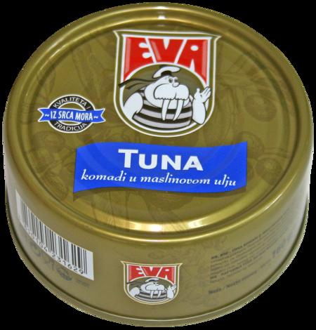 Tuna komadi u maslinovom ulju