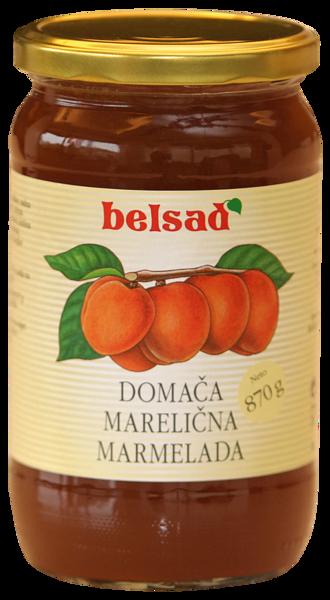 Domestic apricot marmalade