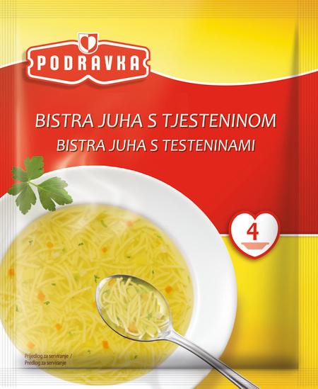 Bistra juha s tjesteninom