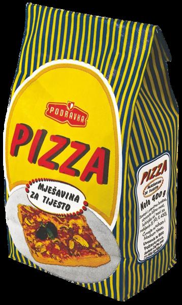 Pizza dough mix