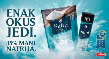 Salut sol z zmanjšano količino natrija