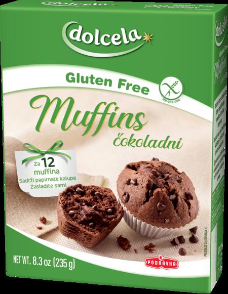 Čokoladni muffini brez glutena