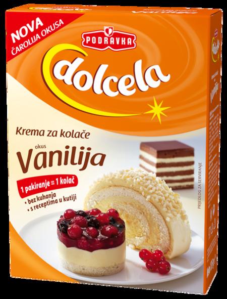 Cake cream vanilla