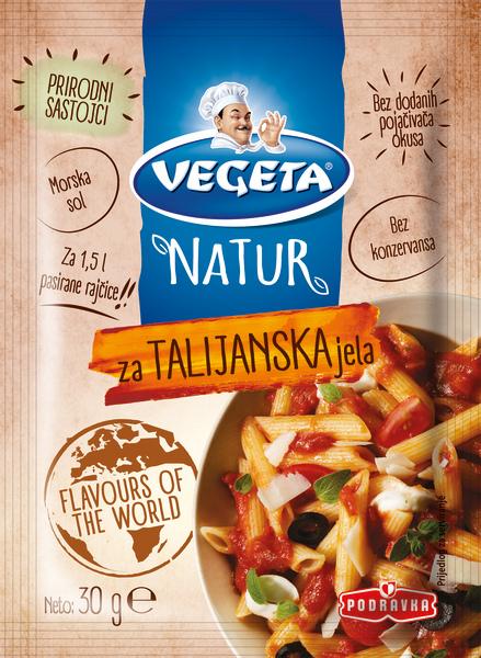 Vegeta Natur za talijanska jela
