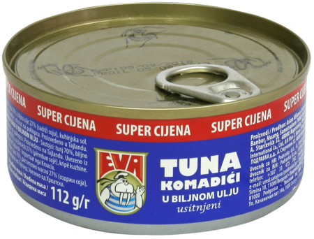 Tuna chunks in vegetable oil