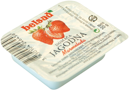 Domestic marmalade strawberry