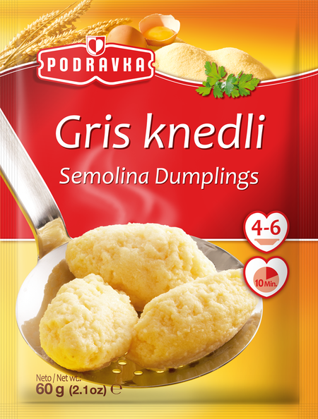 Semolina dumplings