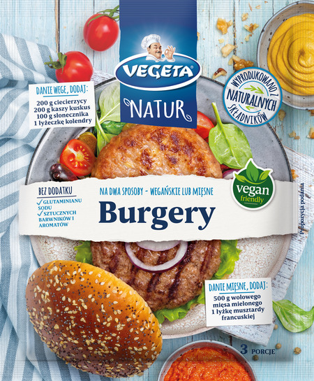 Fix Vegeta Natur Burgery