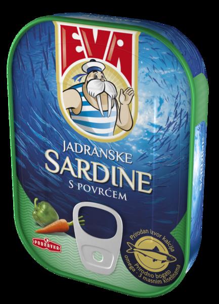 Jadranske sardine s povrćem