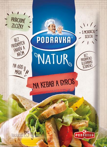 Podravka Natur na kebab a gyros