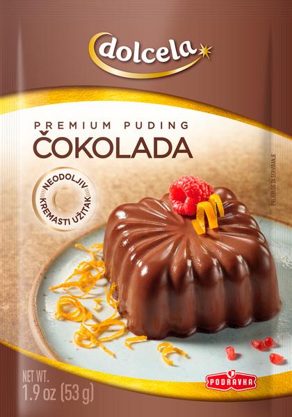Chocolate premium pudding