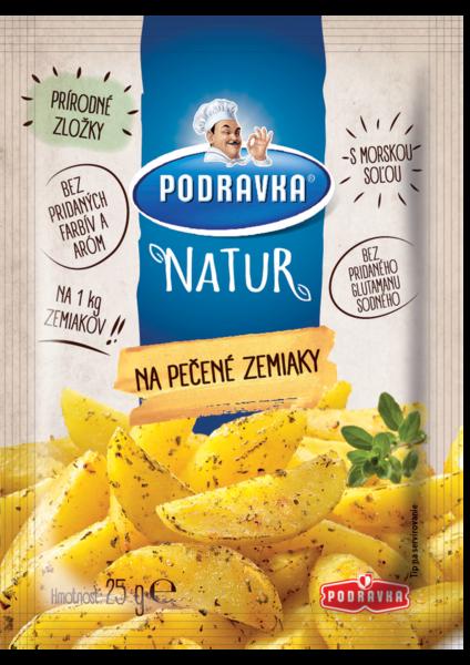 Podravka NATUR na pečené zemiaky