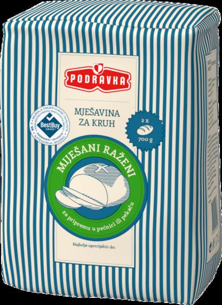 Rye-bread mix