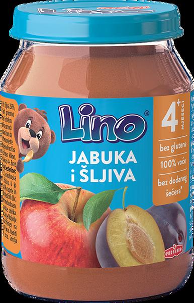 Lino puree apple and plum