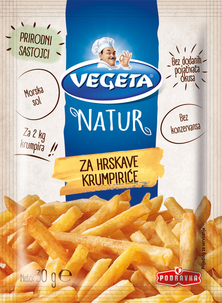 Vegeta Natur for crunchy potatoes