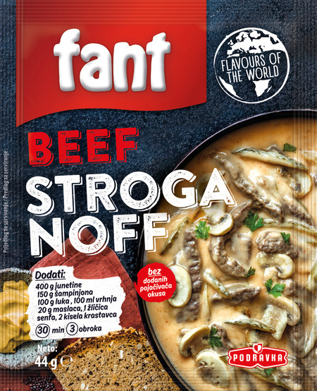 Fant Beef Stroganoff
