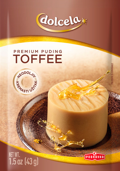 Premium puding toffee