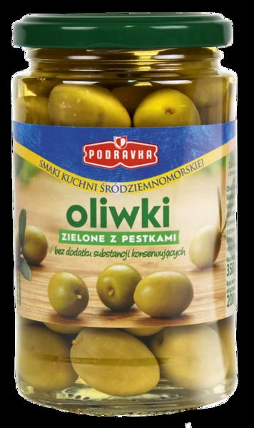 Oliwki zielone z pestkami Podravka