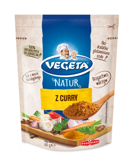Vegeta Natur z curry