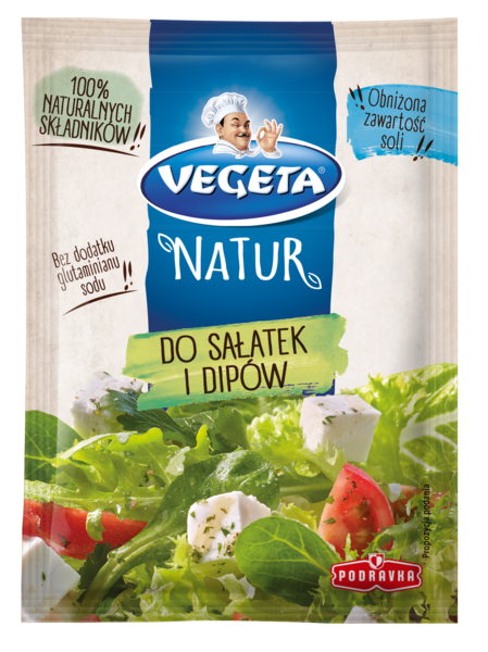 Vegeta Natur do sałatek i dipów