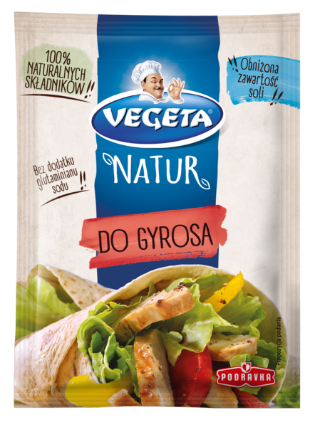 Vegeta Natur do gyrosa