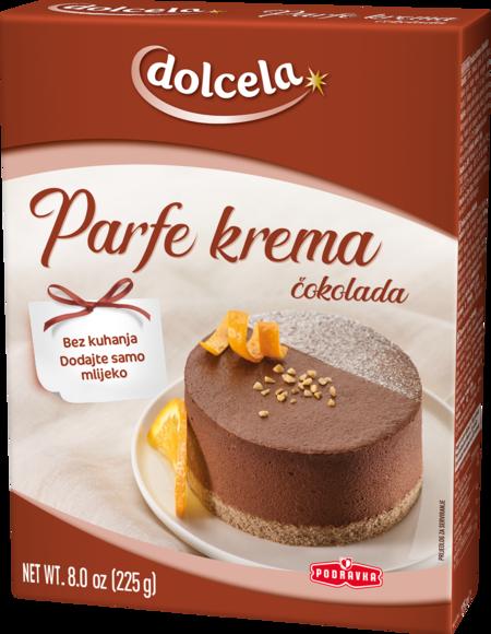 Parfait cream chocolate
