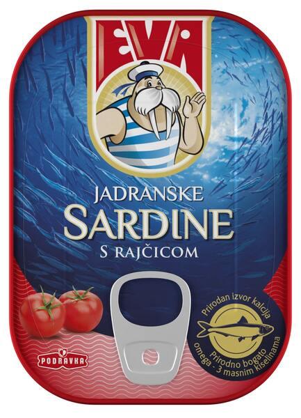 Eva Sardine in sos tomat