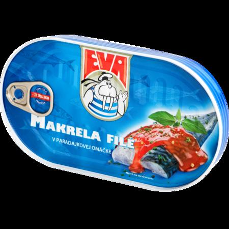 EVA Makrely v paradajkovej omáčke
