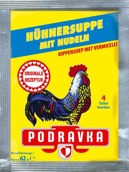 Hühnersuppe mit Nudeln