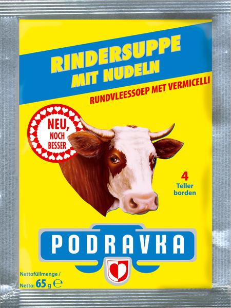 Rindersuppe mit Nudeln