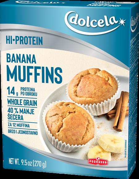 HI Protein banana muffins