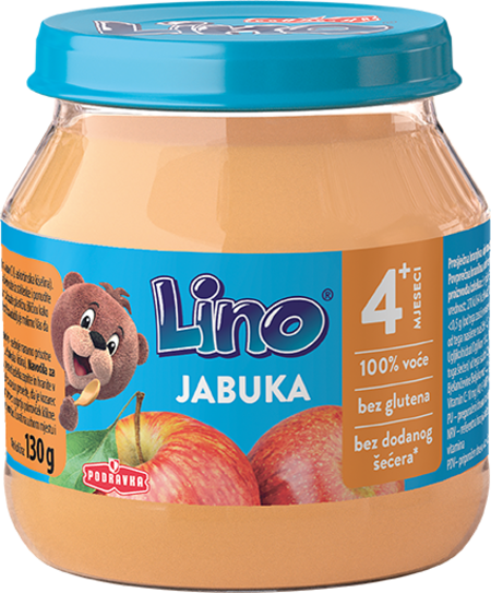 Lino puree apple