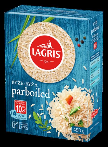 Rýže parboiled 10 min. - varné sáčky