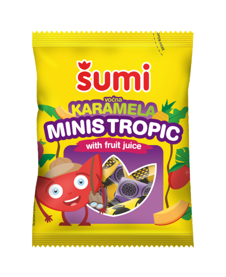 Karamela Minis tropic