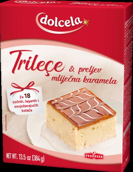 Trilece & preljev mliječna karamela