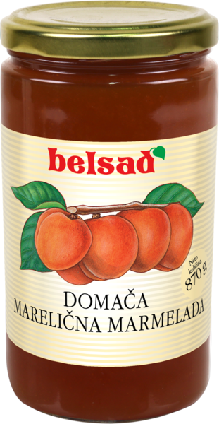 Domača marelična marmelada
