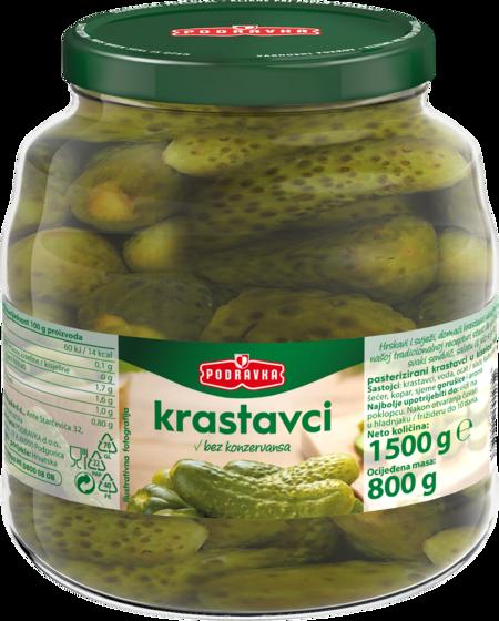 Pickled gherkings