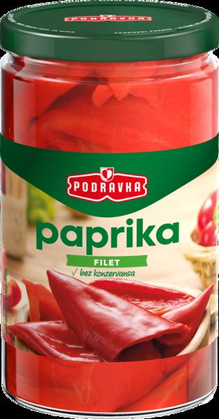 Pepper red fillet