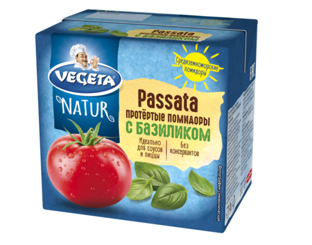 Passata протертые помидоры с базиликом