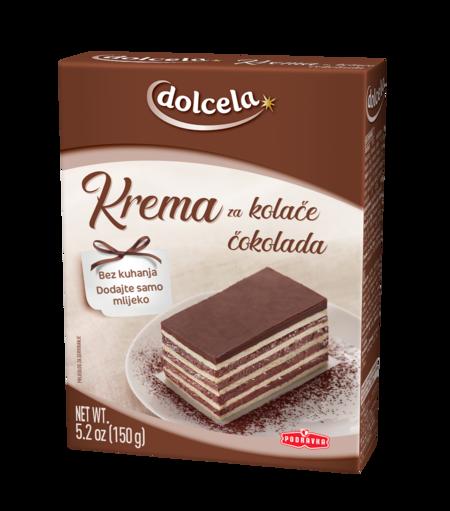 Cake cream chocolate