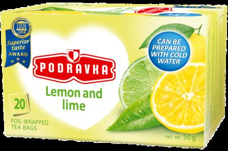 Podravka Lemon and Lime Tea