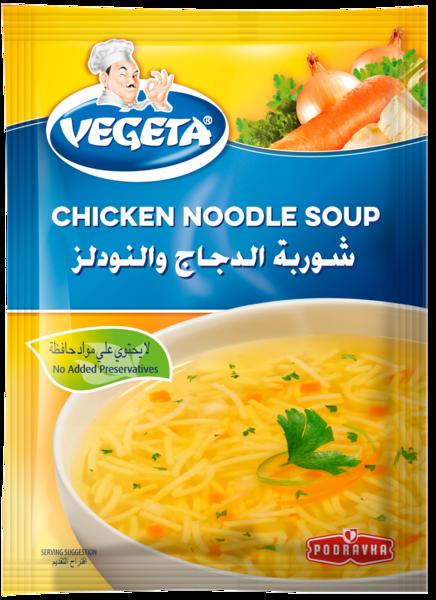 Vegeta Chicken Noodle Soup