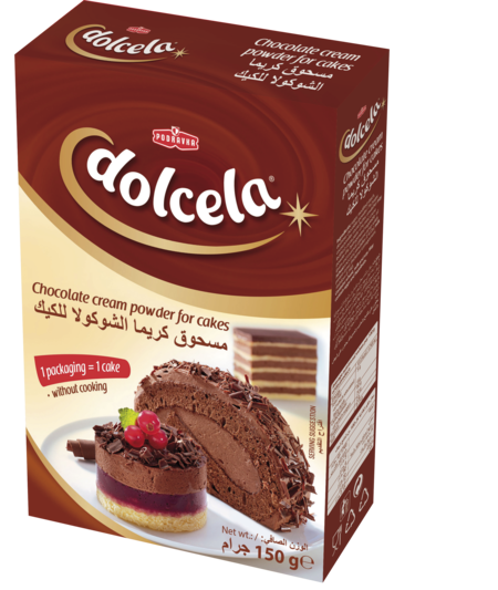 Dolcela Chocolate Cream Powder for Cakes